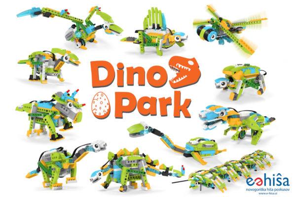 Tečaj Lego Dinopark v E-Hiši