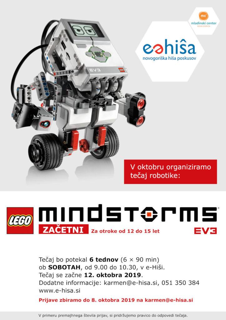Začetni tečaj MINDSTORMS EV3 robotike