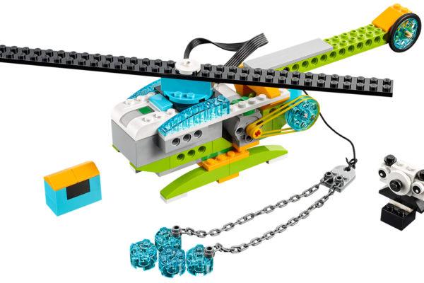 helikopter lego WeDo 2.0