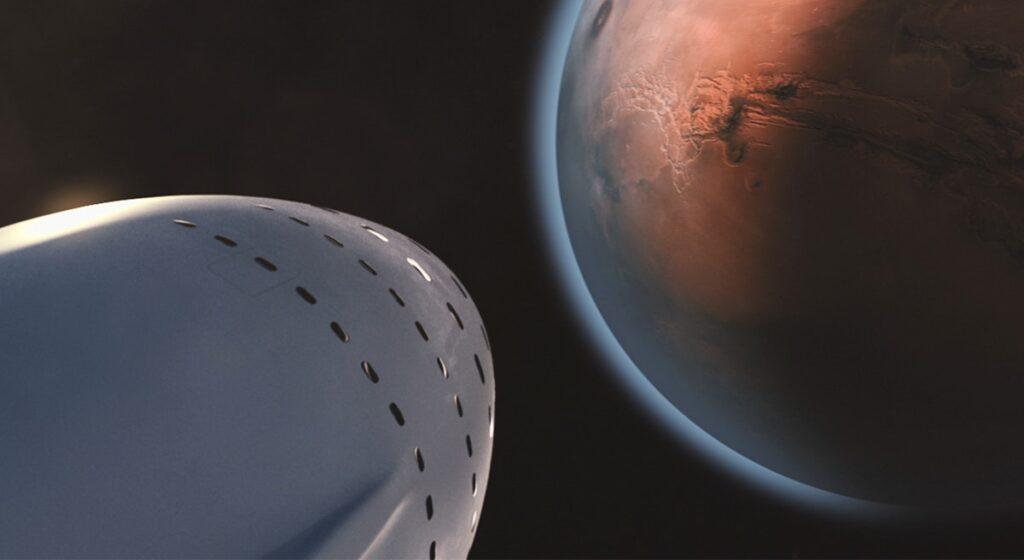 Misija na Mars - slika je Creative Commons Zero